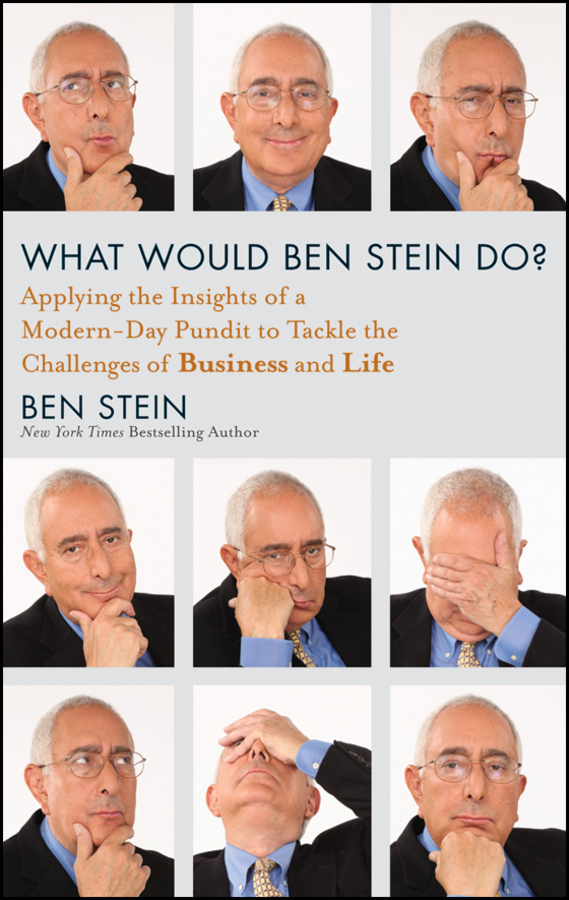 What Would Ben Stein Do?. Applying the Wisdom of a Modern-Day Prophet to Tackle the Challenges of Work and Life