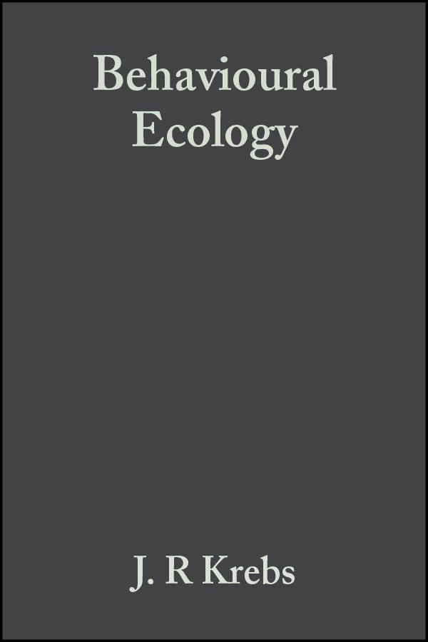 Behavioural Ecology. An Evolutionary Approach