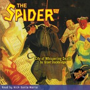 City of Whispering Death - The Spider 55 (Unabridged)