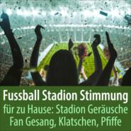 Fussball Stadion Stimmung für zu Hause: Stadion Geräusche Fan Gesang, Klatschen, Pfiffe