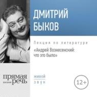 Лекция «Андрей Вознесенский: что это было»