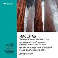 Краткое содержание книги: Масштаб: универсальные законы роста, инновации, устойчивости и темпа жизни для живых организмов, городов, компаний и национальных экономик. Джеффри Уэст