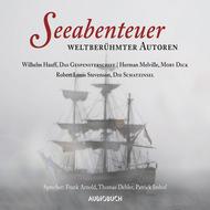 Seeabenteuer weltberühmter Autoren - Moby Dick, Das Gespensterschiff, Die Schatzinsel (Gekürzte Lesung)
