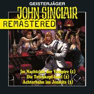John Sinclair - Sammlerbox 1, Folgen 1-3: Nachtclub\/Totenkopf-Insel\/Achterbahn
