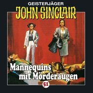 John Sinclair, Folge 51: Mannequins mit Mörderaugen