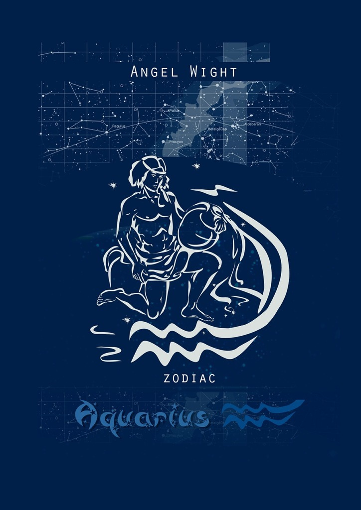 Wight Angel Aquarius. Zodiac we belong together a book about adoption and families