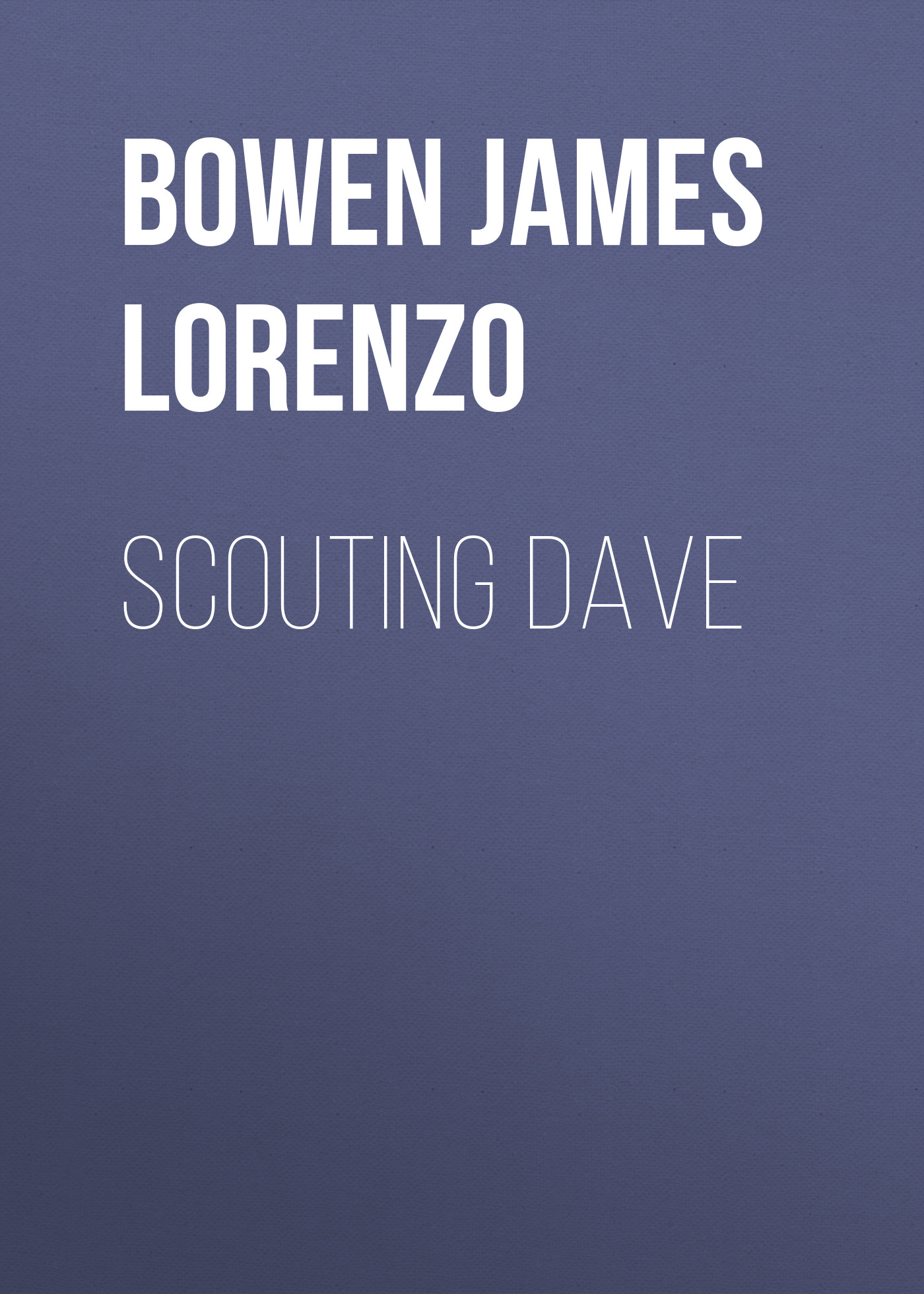 Bowen James Lorenzo Scouting Dave 940nm scouting hunting camera