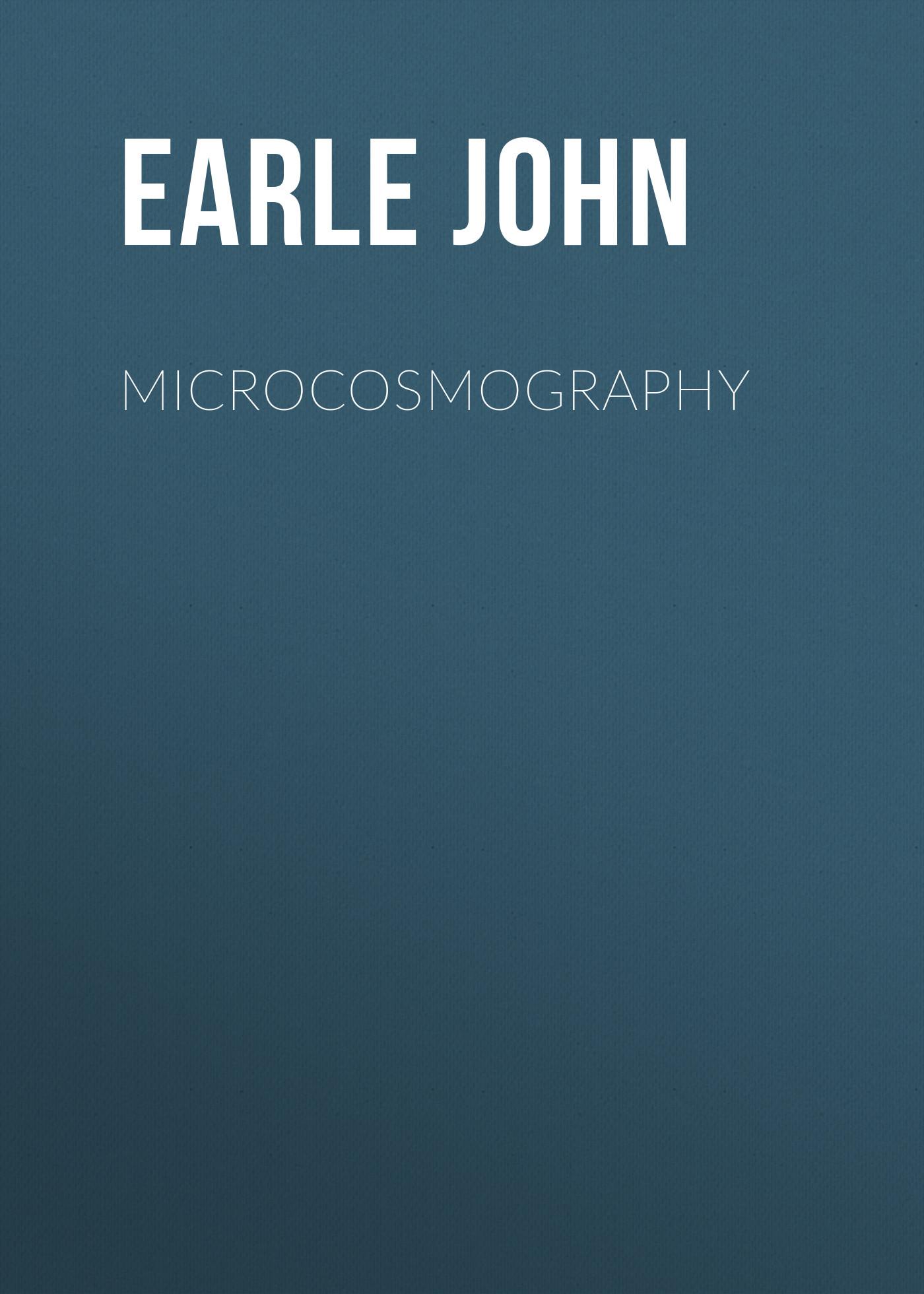 Earle John Microcosmography steve earle toronto