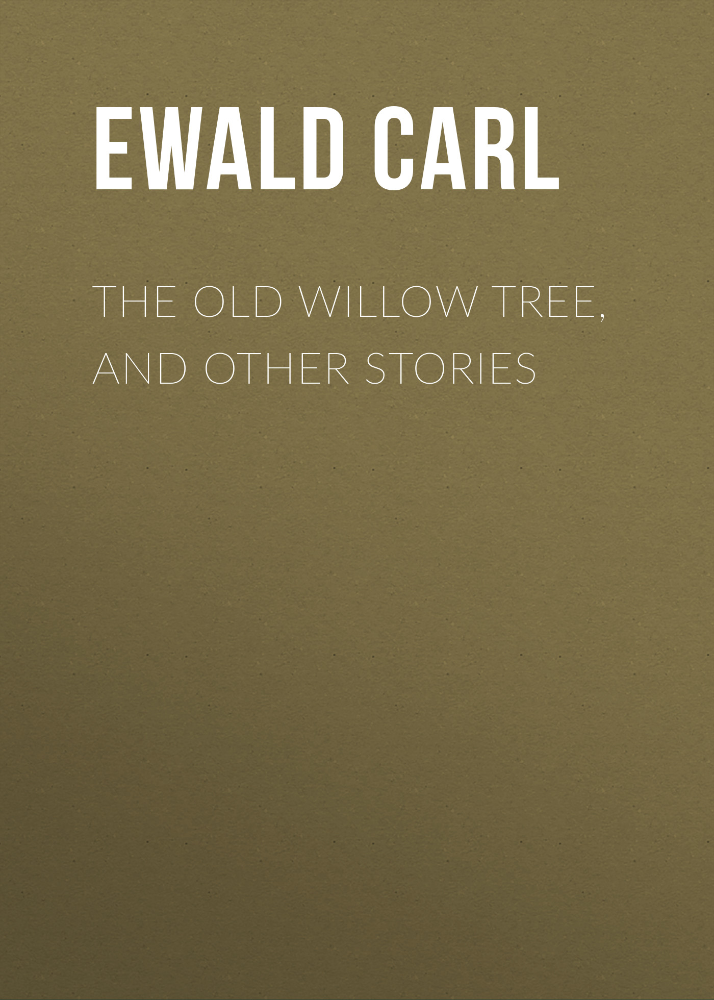Ewald Carl The Old Willow Tree, and Other Stories cartoon tree duvet cover set