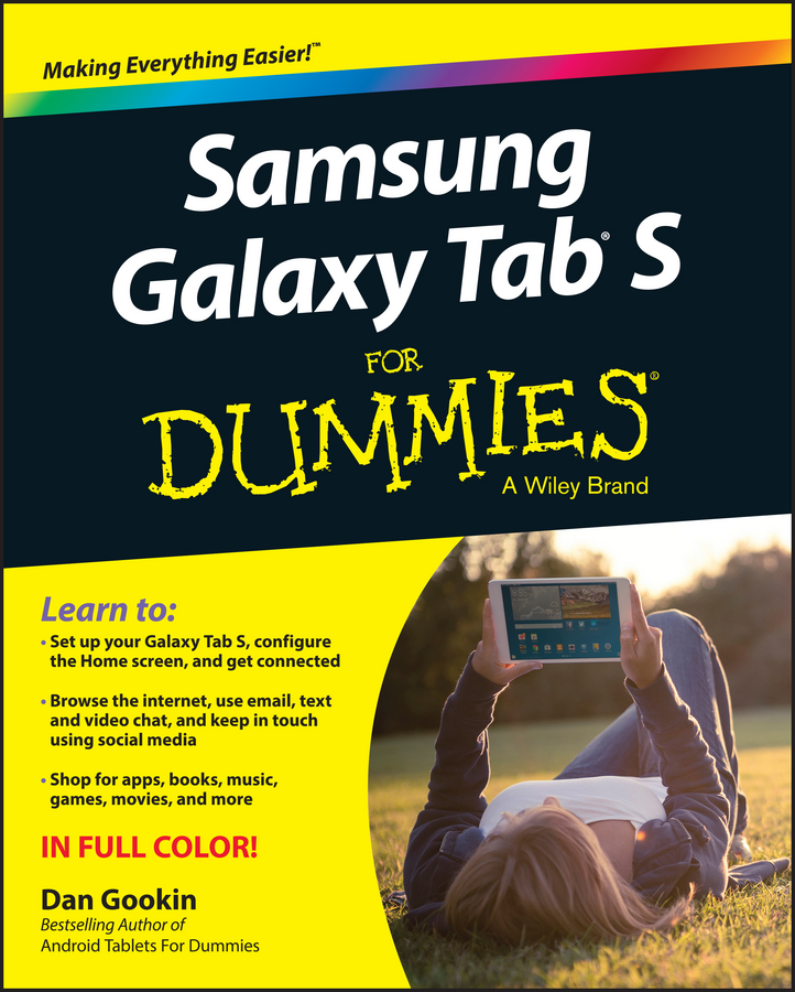 лучшая цена Dan Gookin Samsung Galaxy Tab S For Dummies