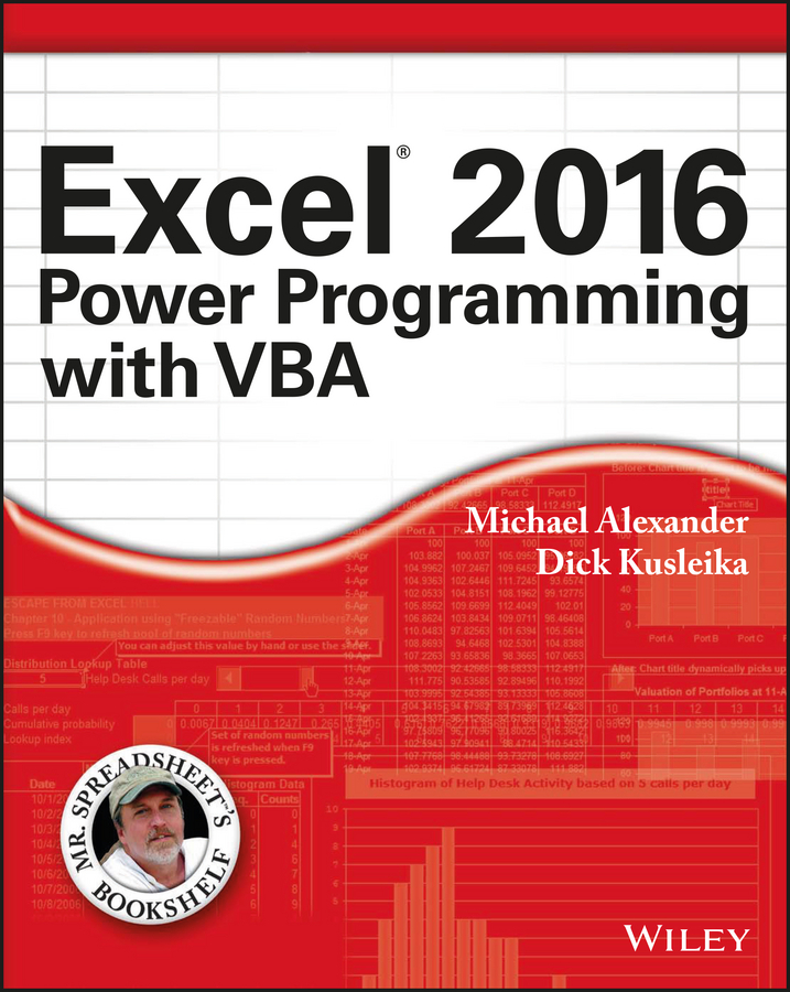 Michael Alexander Excel 2016 Power Programming with VBA цена 2017