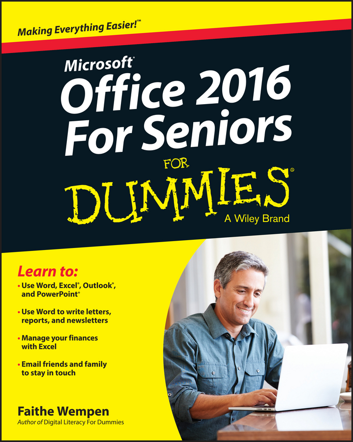 Faithe Wempen Office 2016 For Seniors For Dummies