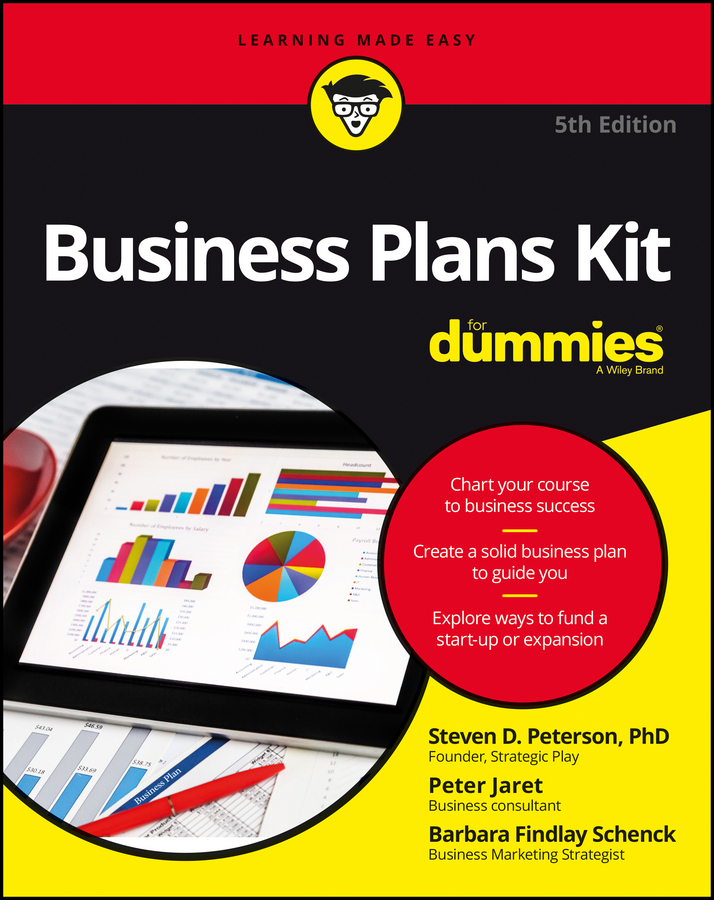Peter Jaret E. Business Plans Kit For Dummies cooking up a business