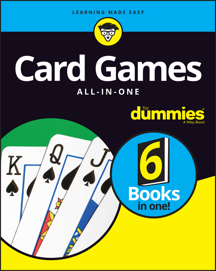 Consumer Dummies Card Games All-In-One For Dummies pu card sleeve