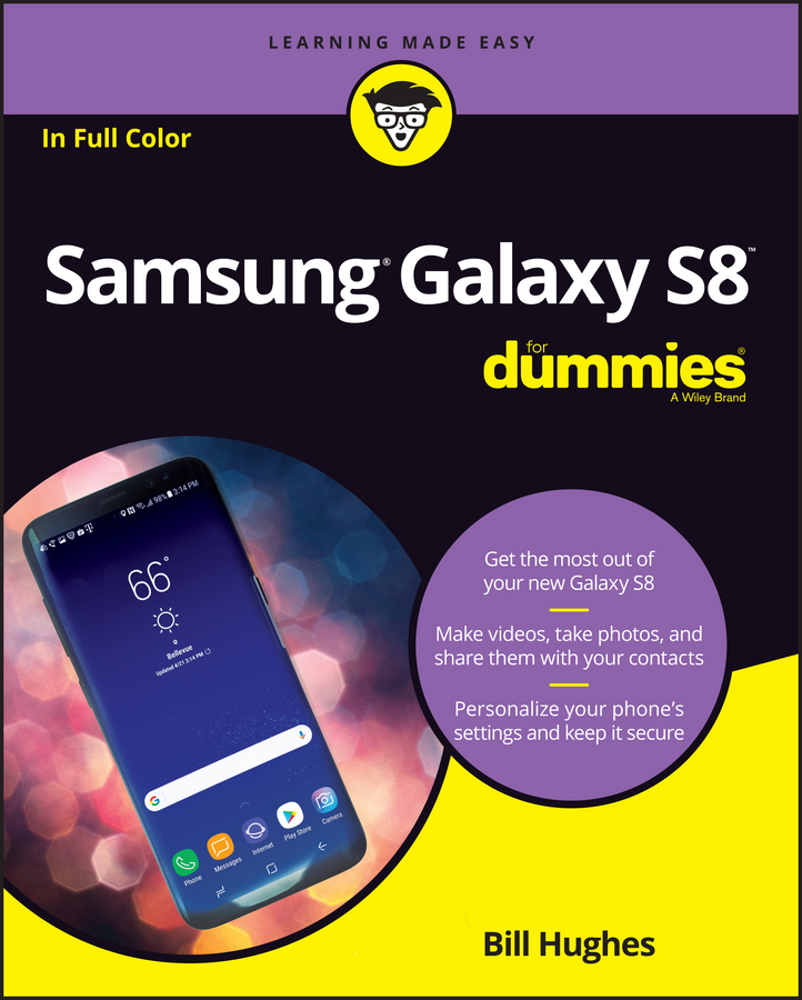 Bill Hughes Samsung Galaxy S8 For Dummies рахманов а и певчие птицы page 9