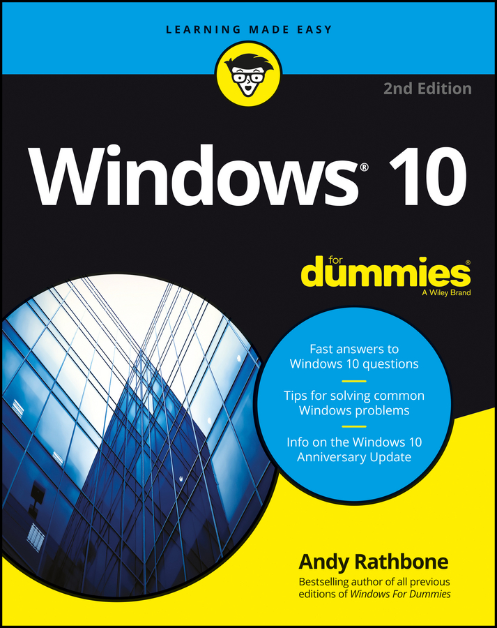 Andy Rathbone Windows 10 For Dummies andy rathbone windows 10 for dummies