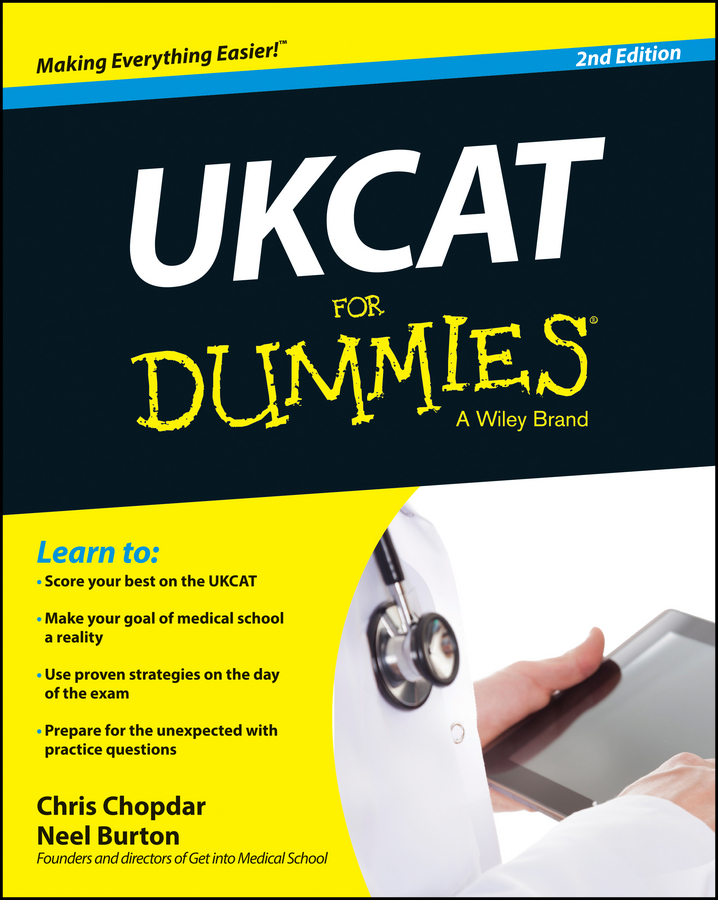 Neel Burton UKCAT For Dummies crash test dummies crash test dummies oooh la la