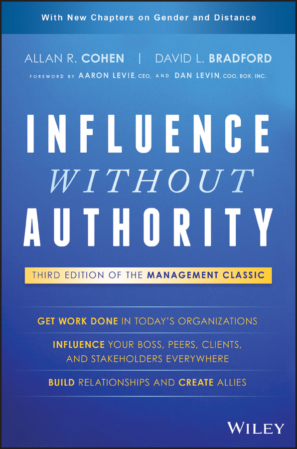 Allan Cohen R. Influence Without Authority stephanie vance the influence game 50 insider tactics from the washington d c lobbying world that will get you to yes
