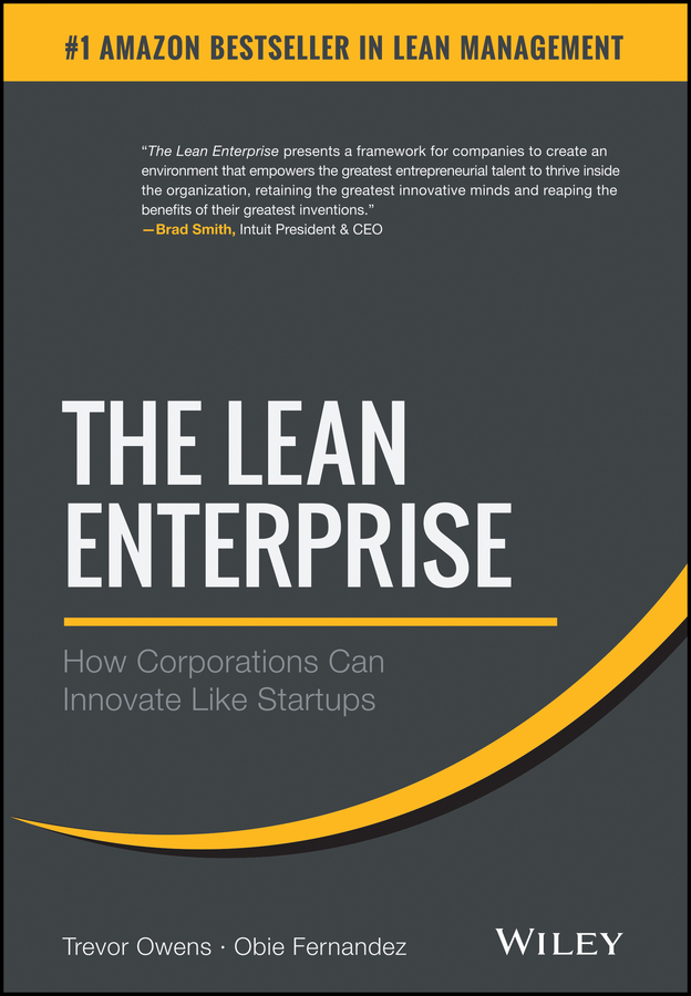 Trevor Owens The Lean Enterprise. How Corporations Can Innovate Like Startups lean in