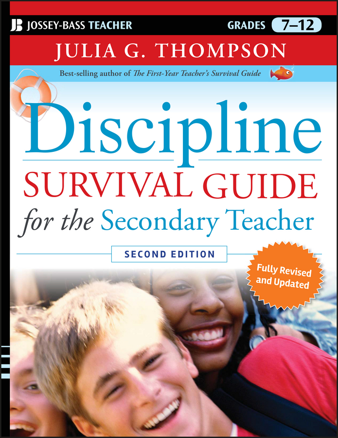 Julia Thompson G. Discipline Survival Guide for the Secondary Teacher stephen brookfield d the skillful teacher on technique trust and responsiveness in the classroom