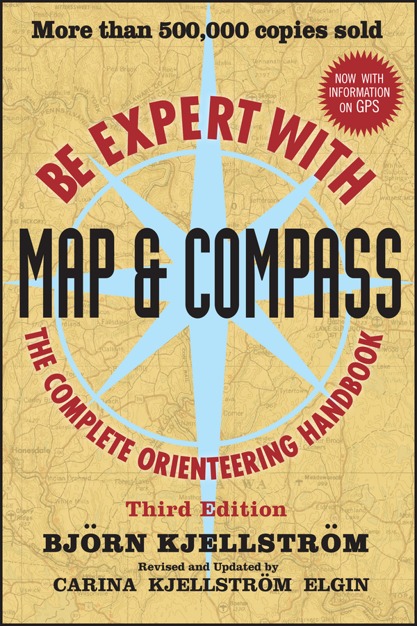 Bjorn Kjellstrom Be Expert with Map and Compass dublin pocket map and guide