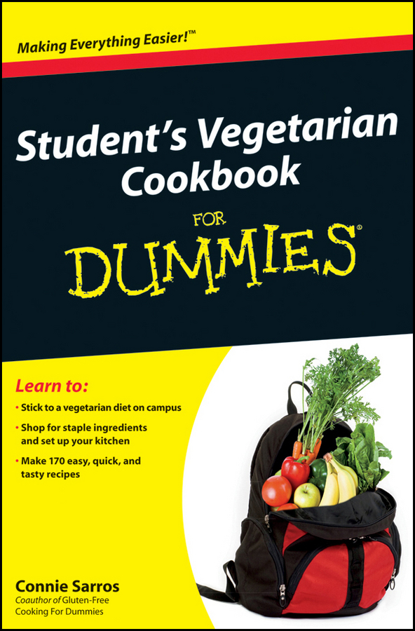 Connie Sarros Student's Vegetarian Cookbook For Dummies alpesh patel the online trading cookbook
