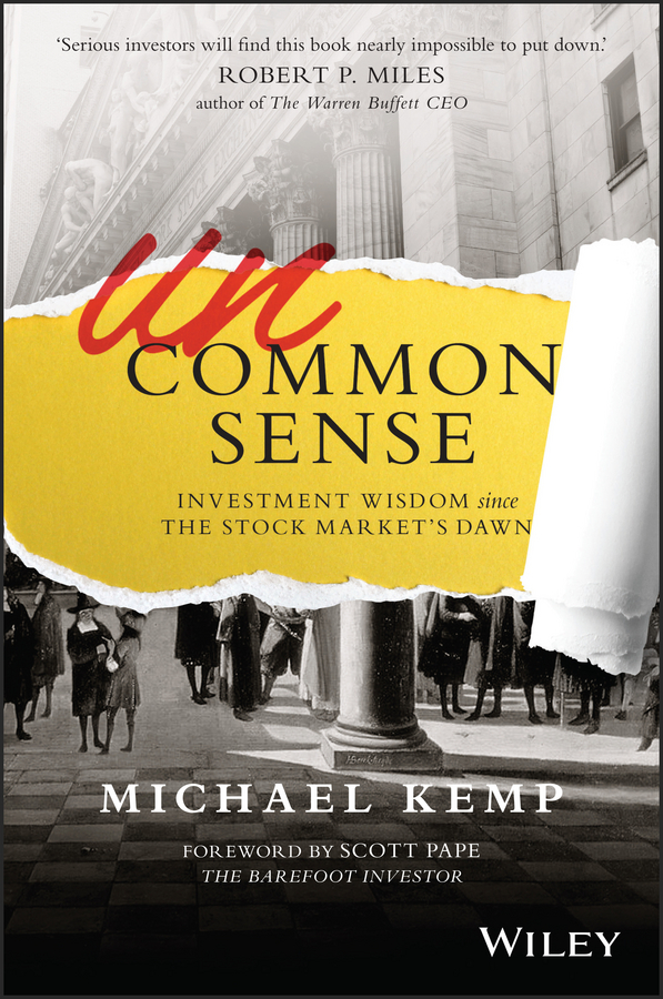 Michael Kemp Uncommon Sense. Investment Wisdom Since the Stock Market's Dawn free shipping 5pcs in stock m5241l