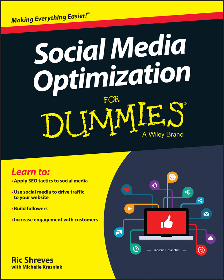 Ric Shreves Social Media Optimization For Dummies donna serdula linkedin profile optimization for dummies