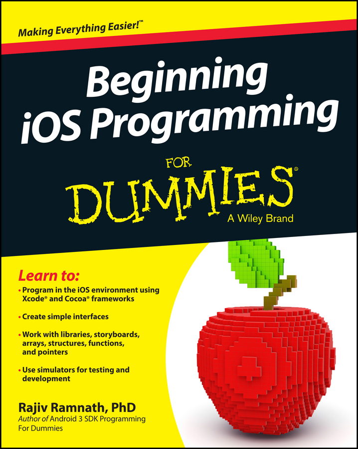 Rajiv Ramnath Beginning iOS Programming For Dummies brendan scott python for kids for dummies