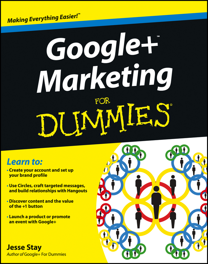 Jesse Stay Google+ Marketing For Dummies jesse stay google marketing for dummies