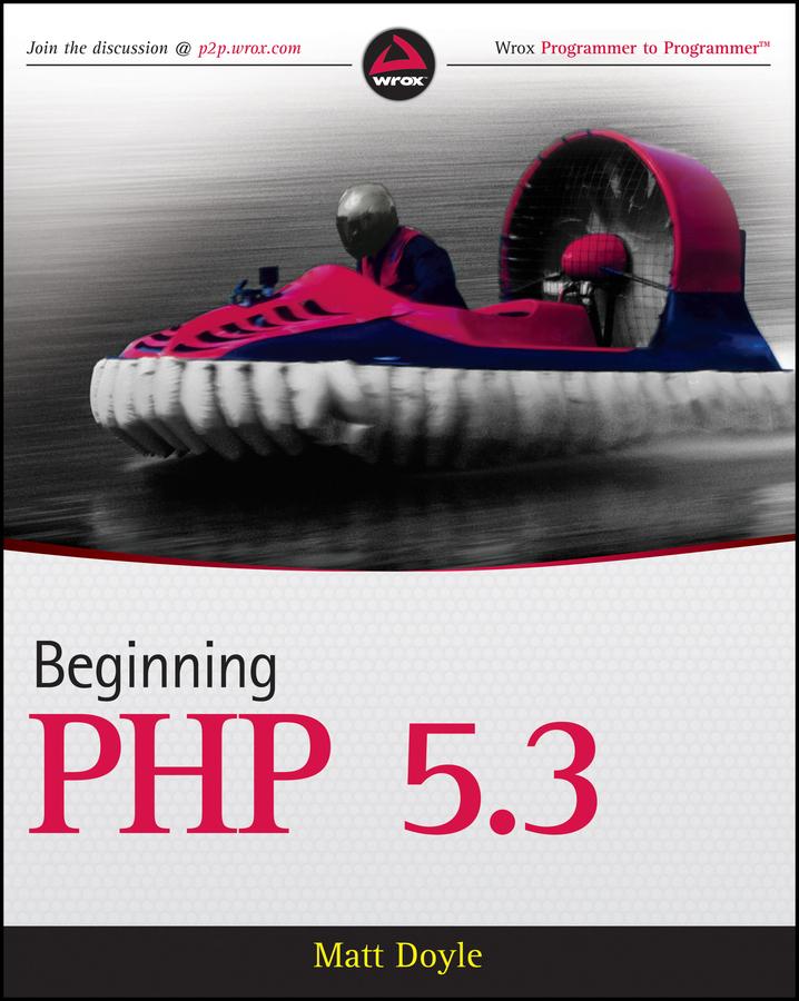 Matt Doyle Beginning PHP 5.3
