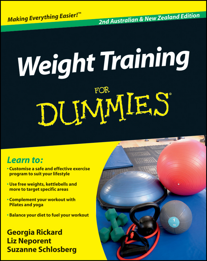 Liz Neporent Weight Training For Dummies citizen at0761 08e citizen