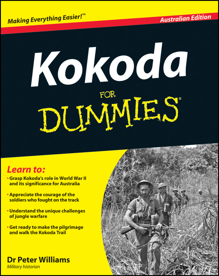 Peter Williams Kokoda Trail for Dummies mike cronin irish history for dummies