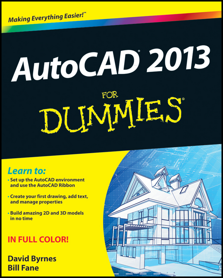 David Byrnes AutoCAD 2013 For Dummies david byrnes autocad 2007 for dummies