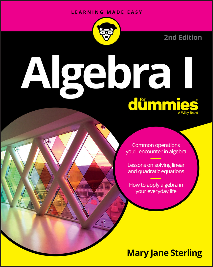 Mary Sterling Jane Algebra I For Dummies jane kelly sage 50 accounts for dummies