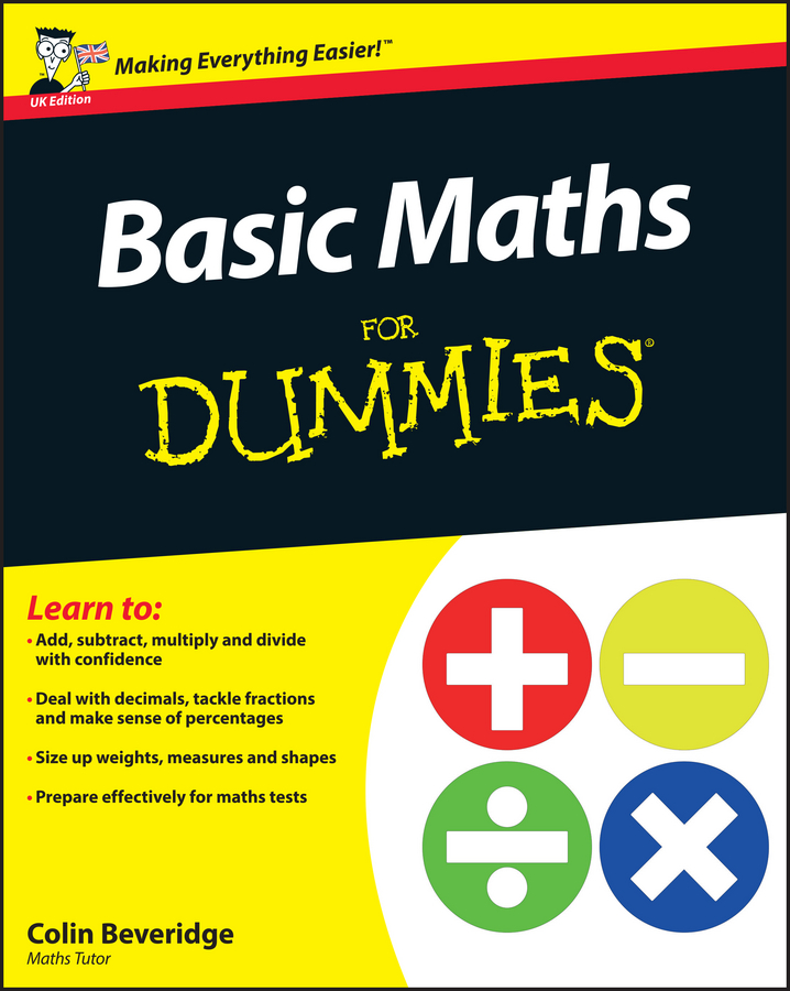 цена Colin Beveridge Basic Maths For Dummies