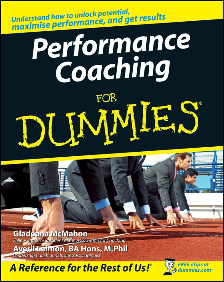 Gladeana McMahon Performance Coaching For Dummies gladeana mcmahon positive psychology for dummies