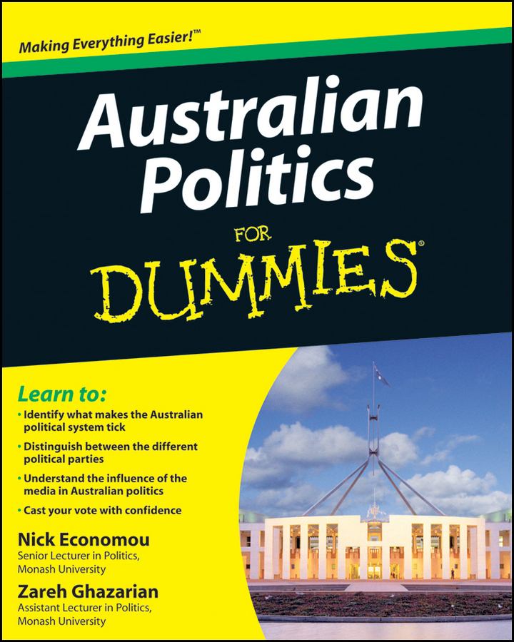 Nick Economou Australian Politics For Dummies expansion module elc md204l text panel