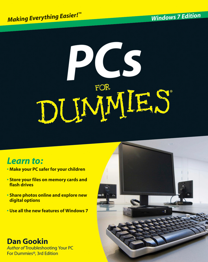 Dan Gookin PCs For Dummies ellen finkelstein flash cs3 for dummies