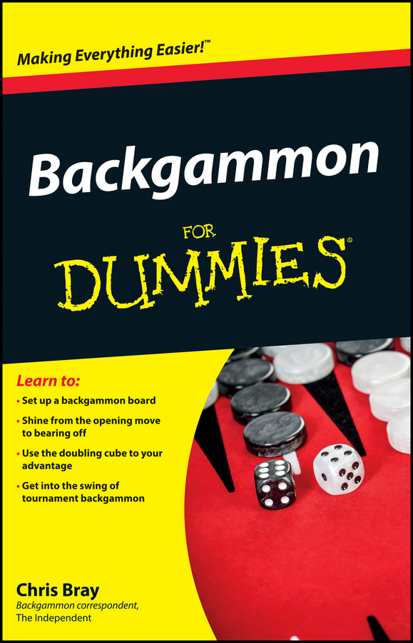 Chris Bray Backgammon For Dummies probabilities
