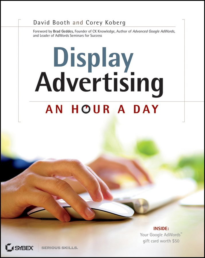 David Booth Display Advertising. An Hour a Day hollis thomases twitter marketing an hour a day