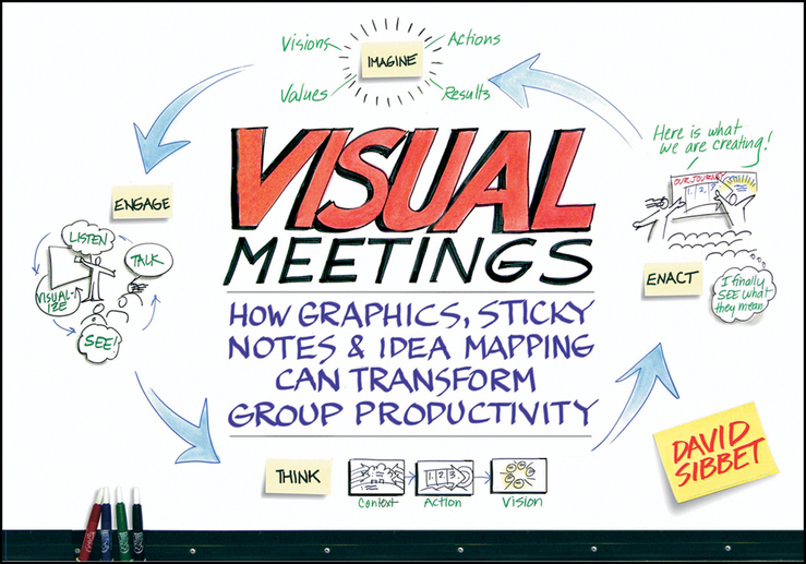 David Sibbet Visual Meetings. How Graphics, Sticky Notes and Idea Mapping Can Transform Group Productivity david sibbet visual teams graphic tools for commitment innovation and high performance