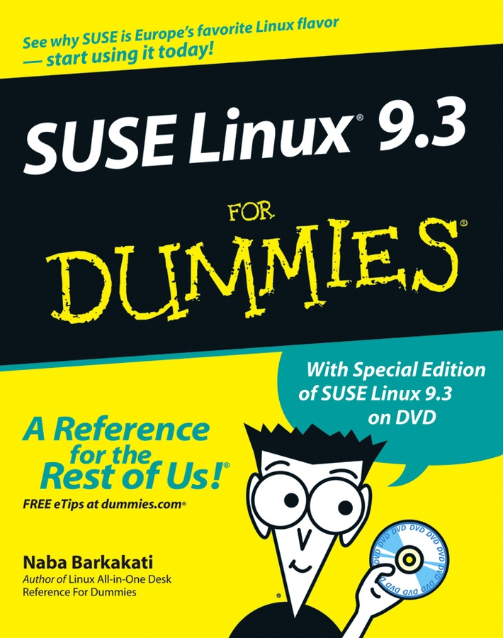 Naba Barkakati SUSE Linux 9.3 For Dummies