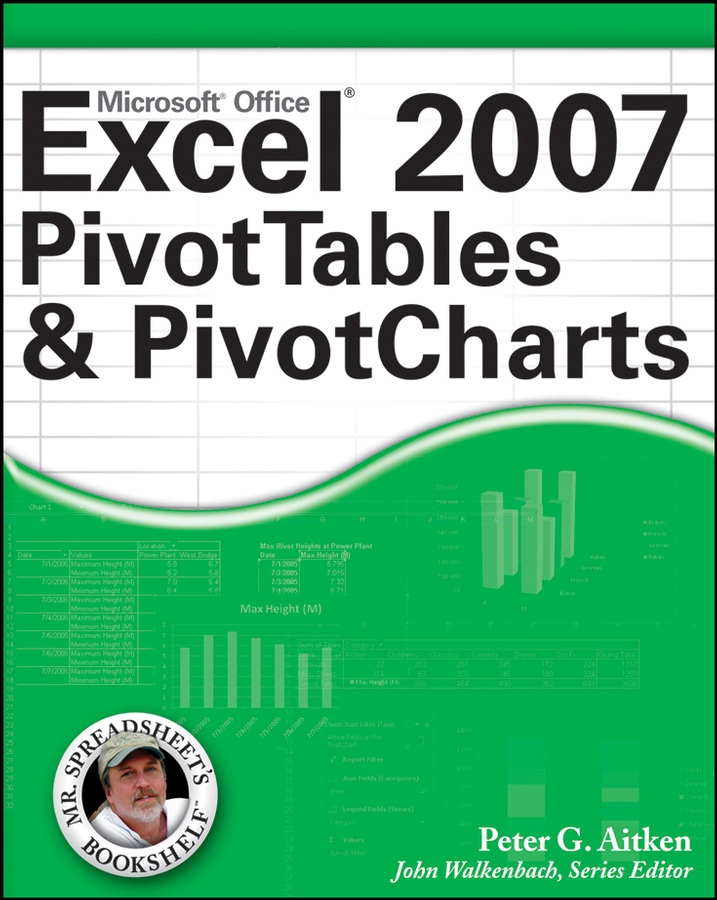 Peter Aitken G. Excel 2007 PivotTables and PivotCharts uni t ut139a true rms digital multimeter auto manual range ac dc amp volts ohm tester with data hold ncv and battery test