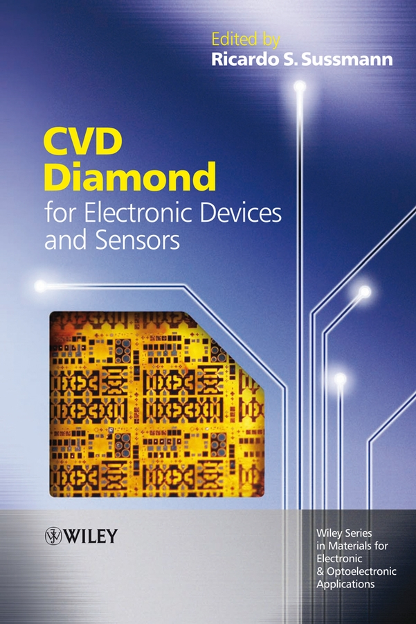 Ricardo Sussmann S. CVD Diamond for Electronic Devices and Sensors ce emc lvd fcc ozonizer for industrial water treatment