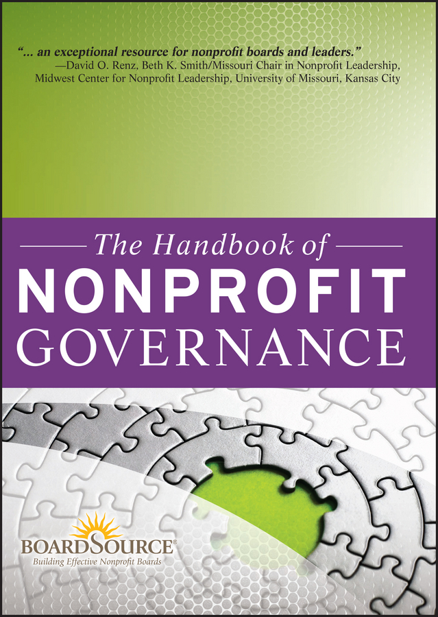 BoardSource The Handbook of Nonprofit Governance elements of effective governance measurement accountability and participation