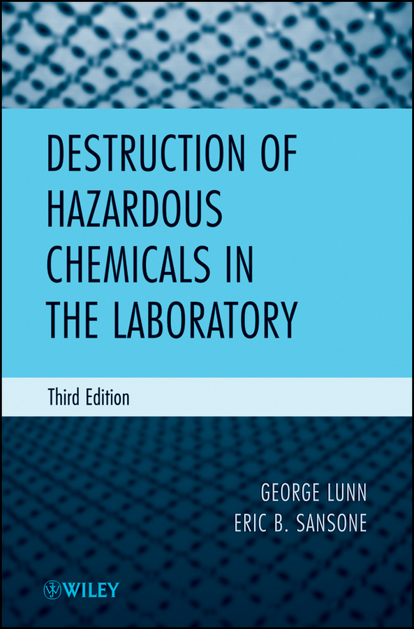 Sansone Eric B. Destruction of Hazardous Chemicals in the Laboratory bioconversion of corn stover into value added chemicals