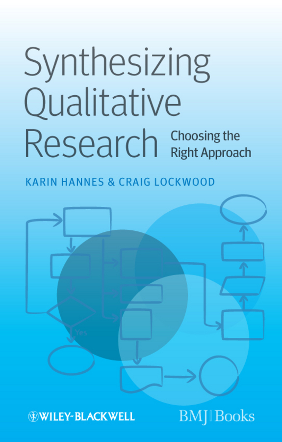Lockwood Craig Synthesizing Qualitative Research. Choosing the Right Approach