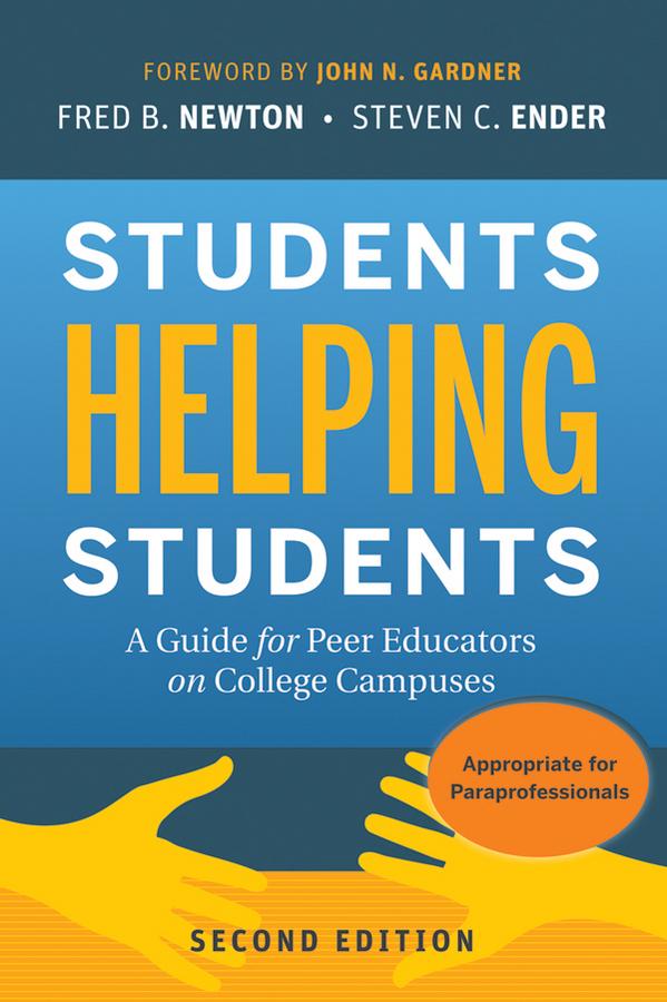 John Gardner N. Students Helping Students. A Guide for Peer Educators on College Campuses basharat peer curfewed night