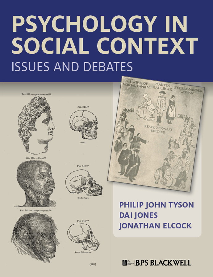 Dai Jones Psychology in Social Context. Issues and Debates psychology
